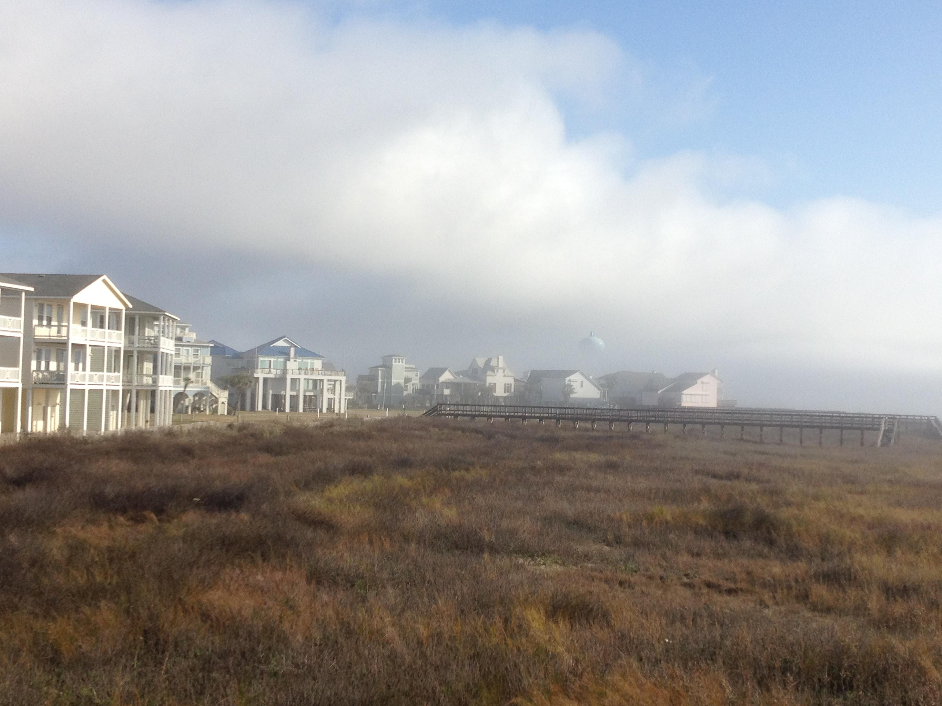 Foggy Morning inGalveston