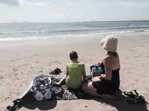 Taking a beach break