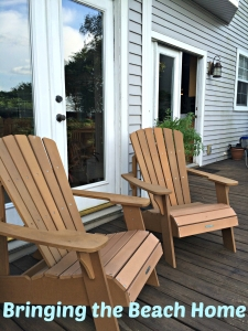Adirondacks on deck