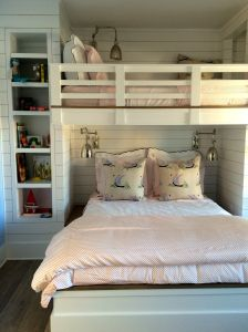 Family Bunk Room at Coastal Living Showhouse in Port Aransas