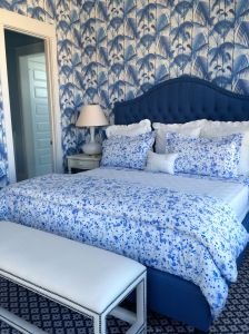 Beautiful Master Bedroom in Coastal Living Showhouse in Port Aransas.
