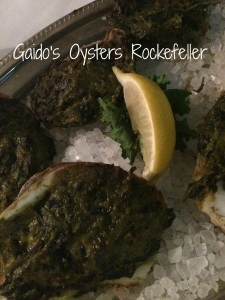 Best Oysters Rockefeller at Gaido's in Galveston, TX