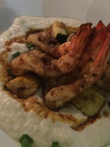Gaido's Shrimp and Blue Chees Grits