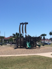Wonderful family times - great for kids - at Roberts Point Park in Port Aransas